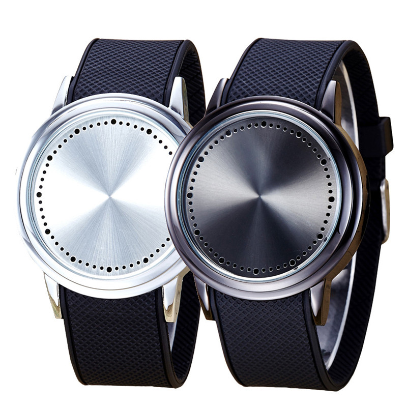 Creative Fashion Couple Touch Best Gift Screen Pattern Silicone Band LED Wrist Watch Sports Watch Digital Watches wholesale<br><br>Aliexpress