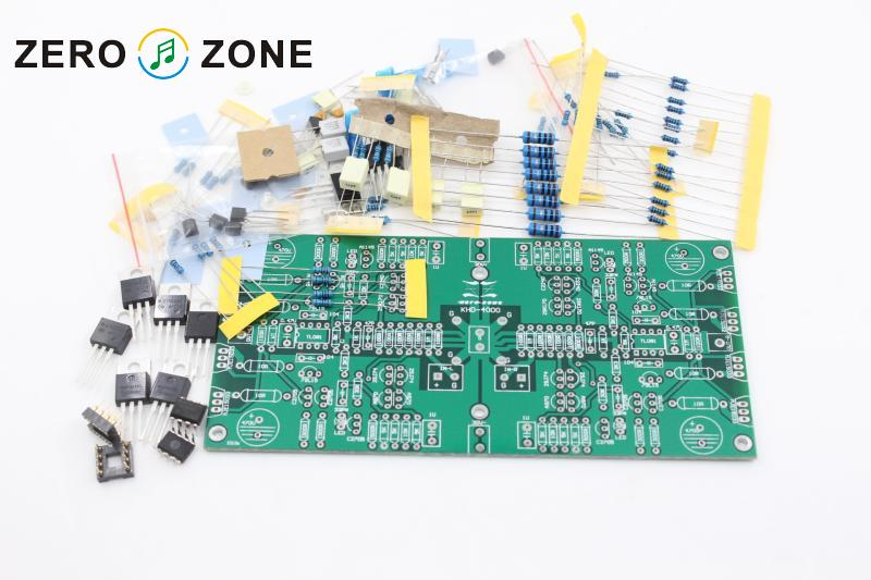 GZLOZONE KHD-4000 Headphone Amplifier Kit Desktop Amplifier Kit