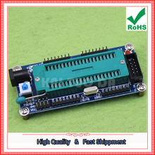 Free Shipping 2pcs AVR Microcontroller Minimum System Board ATmega16 Minimum System Edition (with copper pillar) Factory Outlet