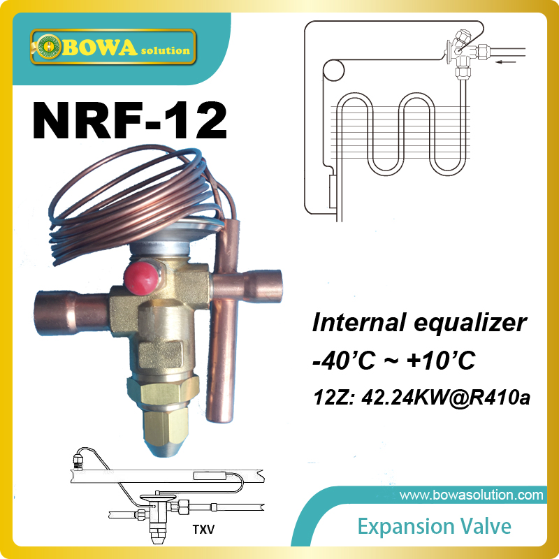 RTE-12 Thermostatic Expansion Valves with SELECTIVE THERMOSTATIC CHARGES and DIAPHRAGM DESIGN<br>