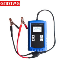 MST-168 Portable 12V Digital Battery Analyzer with Powerful Function Battery Tester MST 168 MSTA168 Test Leads(China)
