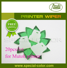 20pcs/Lot Cleaning WIPPER for Mutoh Printer Wiper Compatible(China)