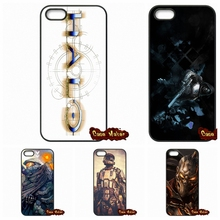 Top brand Halo 5 GUARDIANS Logo Case Cover For iPhone 4 4S 5 5C SE 6 6S 7 Plus Galaxy J5 A5 A3 S5 S7 S6 Edge