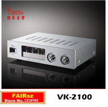 Yaqin VK-2100 HIFI Professional valve tube 12AU7  12AT7  audio power amplifier fever quantity