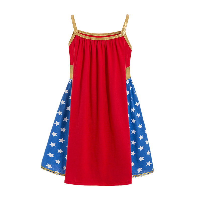 Tähtedega kleit tüdrukutele