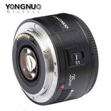 Buy YONGNUO Lens YN35mm F/2 Large Aperture Fixed Auto Focus Lens Canon DSLR Camera 5Ds 5Dr 7D,35mm f2 for $89.99 in AliExpress store