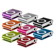 Small clip MP3 player 1-8GB Support Micro SD TF Mini Clip Metal USB MP3 Music Media Player Sport Mp3 @Z(China)