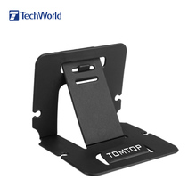 Simple Design PVC Phone Holder Card Folding Stand Holder Bracket Mount Phone Holder for iPhone Xiaomi Huawei Samsung Galaxy HTC