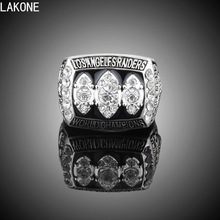 LAKONE Champions ring, Howie Long 1983 Los Angeles Raiders Super Bowl XVIII World Championship ring, sports fans ring, men ring(China)