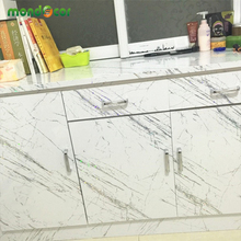 3M Modern Glossy Laser PVC self adhesive wallpaper DIY home decor vinyl wall sticker waterproof kitchen cabinet refurbished film