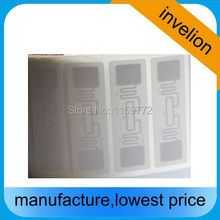 5000pcs/roll Alien 9662 UHF RFID lable 860-960MHZ EPC C1 G2 UHF for ISO18000-6C uhf card RFID tag label stickers(China)