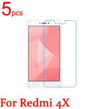 5pcs Ultra Clear glossy/Matte/Nano anti-Explosion LCD Screen Protector Cover For Xiaomi Redmi 4X Mi 5C MAE136 Protective Film