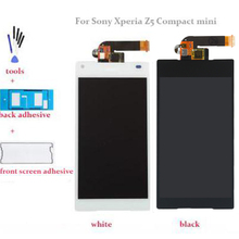 white or black 4.6'' LCD For Sony Xperia Z5 Compact mini E5803 E5823 LCD Display Touch Screen with Digitizer Assembly +Tools