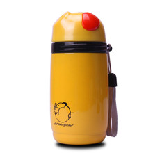 280ml Thermos Pig Animal Style Water Bottle Vacuum Flasks Drinkware Mug with Tea Infuser Strainer Cup for Coffee Tea Student Chi(China)