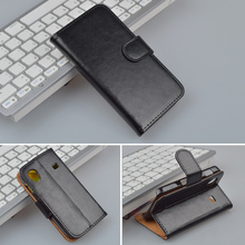 high quality Flip Cover Leather Case For Samsung Galaxy Ace S5830 GT-S5830 GT S5830I gt-s5830i Cover