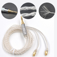 2017Newest Original KZ 100-cores Earphone Upgrade Cable Custom Made For Shure SE535 SE846 UE900 DZ7 DZ9 DZX LZ A3 QT5 MMCX Cable(China)