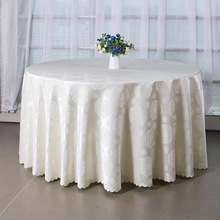 white round tablecloth for round tables elegant wedding tablecloth polyester printed table cloth square rectangular for hotel