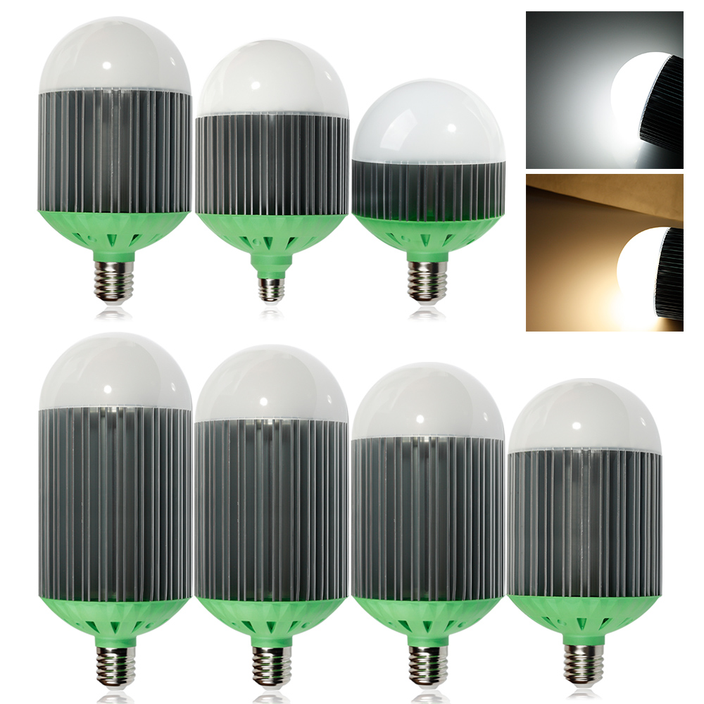 NEW led light E27 E40 led lamp 40W 50W 60W 70W 80W 90W 110W AC85-265V led bulbs warm cold white light<br>