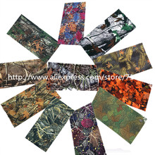 Leaf series Military Quick Dry Half Face Fask Hunting Tactical Camouflage Scarf  Cycling Face Bandana Scarves Headband