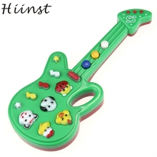 HIINST Modern Electronic Guitar Toy Nursery Rhyme Music Children Baby Gift Random Color Toy For Kids Children Feb10