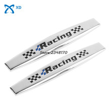 Car Modification Auto Decals Side Fender Stickers Badge Emblem Racing Logo Benz BMW Audi Toyota Hyundai Ford - XD Autoparts Store store