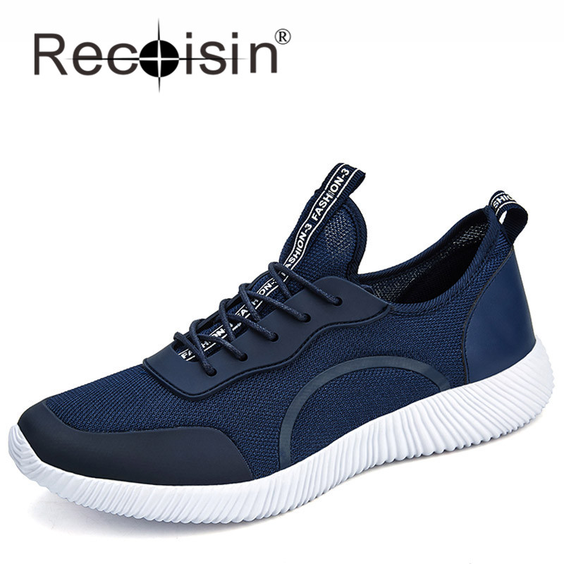 RECOISIN Brand New 2017 Summer Men Shoes Breathable Fashion Men Outdoor Mesh casual Shoes Trainers Flats Zapatillas Mujer 1701<br><br>Aliexpress