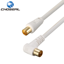 Choseal TV Cable RCA Male To Male TV Satellite Antenna Cable Four-Layer Shielded Radio Frequency Cable For TV TV BOX(China)