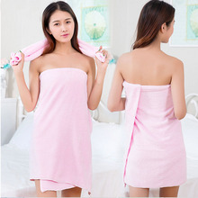 Microfiber Towel Set 2pc/set Plush Bath Towel Super Absorbent Hand Towel Quick Dry Wrap and Towels for Ladies(China)