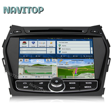 Navitop android 6.0 car dvd player for Hyundai Santa FE IX45 2013 2014 built in wifi RDS navigation system