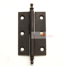 98mm (3.86'') Big Hinges Chinese Hardware Brass for Jewelry Box Cabinet Trunk Suitcase Hinges Copper Free Shipping