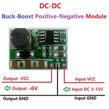 430mA 3V 3.3V 3.7V 5V 6V 9V 12V 15V to -6V DC-DC Boost-Buck +/- Voltage Positive to Negative Converter Module