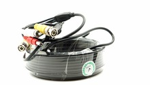 Vehicle DVR av bnc RCA cable 40M with audio video car cctv cable