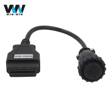 16pin for SCANIA to OBD2 16pin OBD Extension cable for SCANIA Truck 16 Pin OBD2 Connector compatible TCS CDP Diagnostic tool(China)