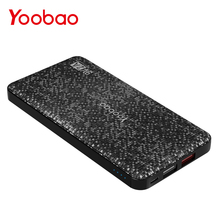 Yoobao Q12 12000mAh Quick Charge 3.0 Power Bank Ultra Thin Portable Charger Dual USB Powerbank For for Samsung Xiaomi LG Huawei(China)