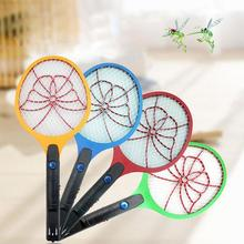 Electric Mosquito Swatter LED Rechargeable Mosquito Repellent Butterfly Hand Racket Pest Reject Insect Fly Killer Trap Zapper