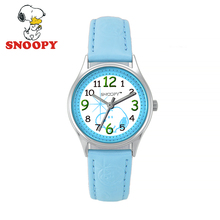 2017 Snoopy Kids Watch Children Watch Casual Fashion Cute Quartz Wristwatches Girls Boys