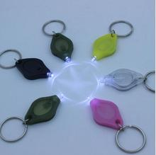 The cheapest !!! Mini LED Flashlight Torch Light Lamp Keychain