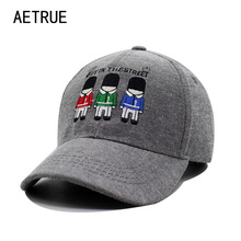 AETRUE Fashion Children Hat Cotton Baseball Cap Kids Bone Cartoon Boys Girls Snapback Caps Casquette Gorras Brand Sun Hats 2017