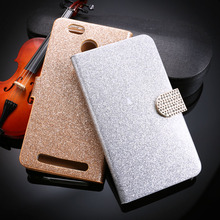 Glitter Bling Diamond Mobile Phone Cases For Leagoo Shark 1 Shark1 Shell Covers Flip Housing Bag Holster For Leagoo Shark 1 Case