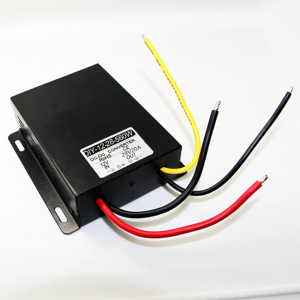 Converter Regu lator Module DC 12V (9 V-26V) Step Up To DC 28V 20A 560W Boost Power<br>