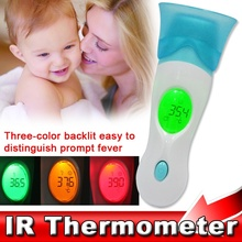 Multi-function Health Monitors Baby Digital LCD Adult Baby Forehead Ear IR Infrared Thermometer For Infants Baby Adult Children