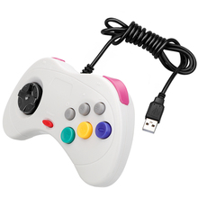 Wired Gamepad USB Classic Game Controller Gamepad Joypad for PC For Sega for Saturn System Style for PC