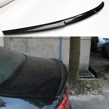 M4 Style For Audi A6 C7 Carbon fiber Rear Boot Trunk Spoiler Wing 2012~2015