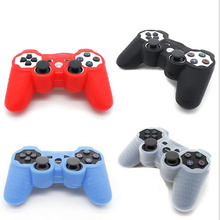 Silicone Rubber Gamepad Joypad Protective Cover Case For Sony PlayStation Dualshock 2/3 PS2 PS3 Controller Protection Skin Shell(China)