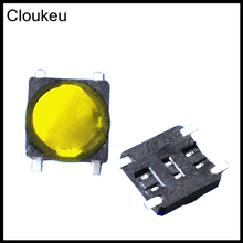 Cloukeu 20Pcs Membrane 3*3mm SMD4 3x3 7TS-028 Touch micro Push Button Switch(China)