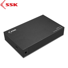 SSK HE-G3000 3.5 Inch Hard Disk Box USB3.0 Hard Disk Case HDD SATA Interface HDD Enclosure For SATA HDD & SSD OTB HD External(China)