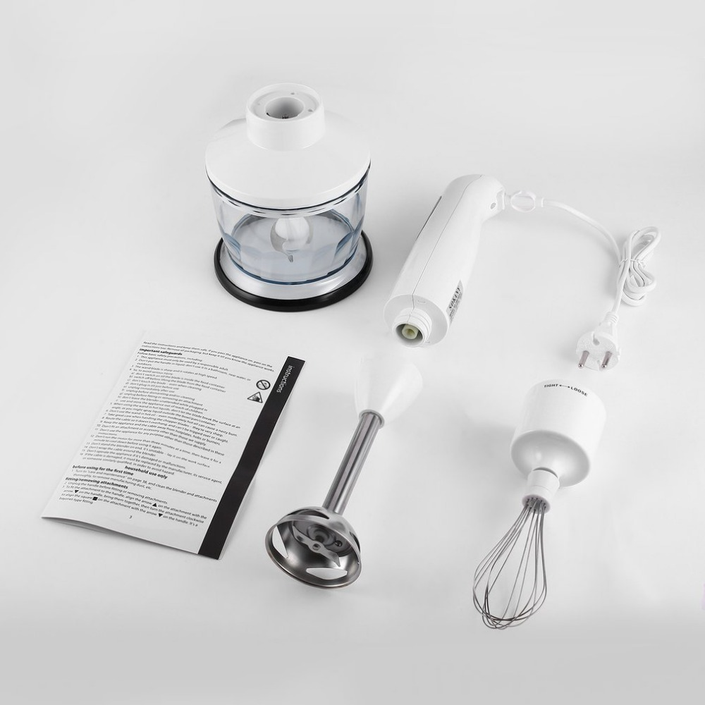 Multifunctional Household Agitator 600W Electric Stick Blender Hand Blender Egg Whisk Meat Grinder Food Processor SKY-5022-3<br>