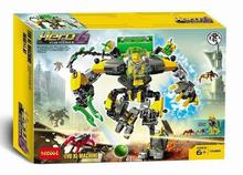 Decool 10489 Hero Factory 6 Hero Star Solider EVO XL MACHINE Robot Action figure 3D building block sets toys for children(China)