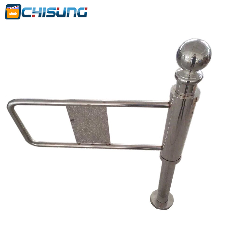 Single Smart Retractable Barrier Gate one-way manual supermarket swing barrier gate Supermarket Swing Turnstile Pedestrian(China (Mainland))