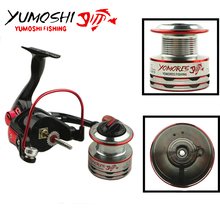 Vivid-worlD YUMOSHI MH 11BB Spinning Reel Light Weight Fishing Reel Ultra Smooth Powerful Spinning Fishing Reel For Bass Fishing